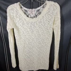 Hippie Rose ivory sweater